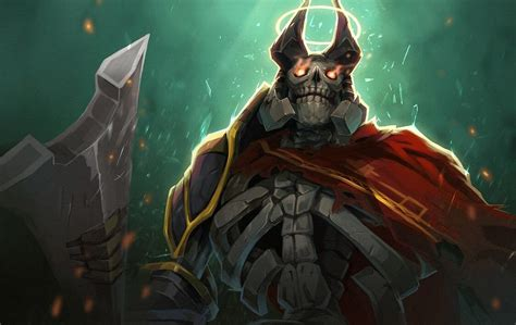 Vote for the one true king boys! Wraith King for Arcana