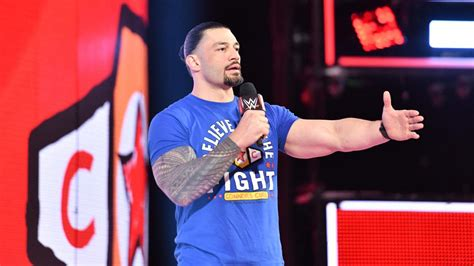 WWE's Roman Reigns talks about inspiring cancer patients