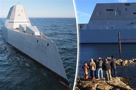 WATCH: US launches stealth warship armed with electric