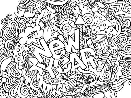 New Year 2018 Coloring - 1+1+1=1