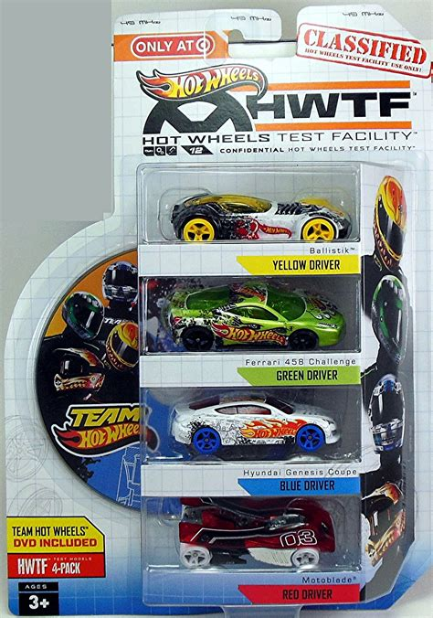 HWTF 4-pack with DVD Only at Target | Hot Wheels Newsletter
