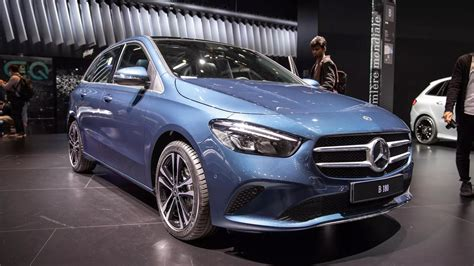 Euro-spec Mercedes-Benz B-Class combines two things