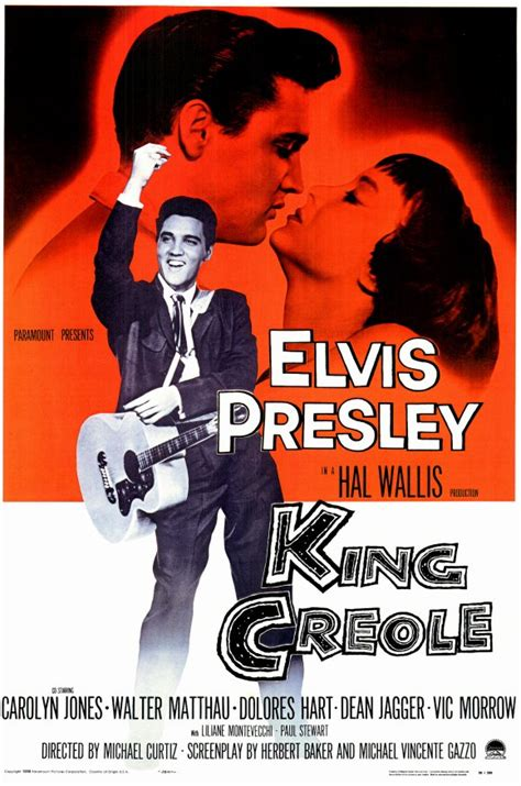 King Creole   Poster ಇ - Elvis Presley's Movies Photo