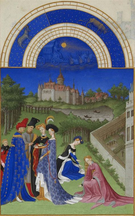 The Limbourg Brothers Beautiful Illustrations for 'Très