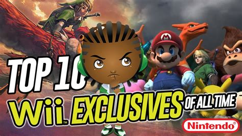 Top 10 Nintendo Wii Video Games Exclusives of all time