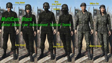 All Camo Uniforms at Fallout 4 Nexus - Mods and community