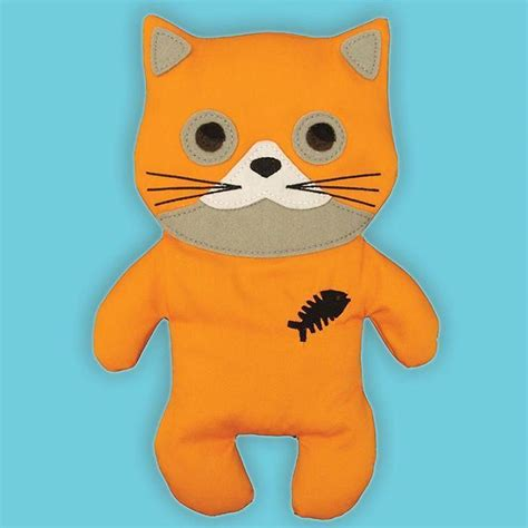 Huggable Cat - Microwaveable Cuddly Heat Pack - Yellow Octopus