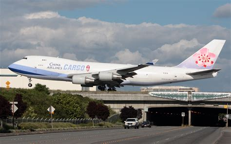 China Airlines Cargo over South 188th | Cargo Facts
