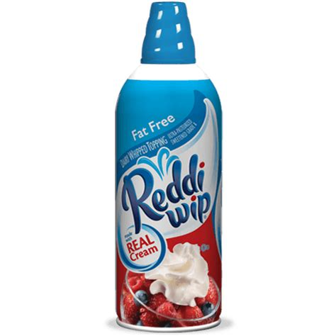 Real Whipped Cream Products | reddiwip
