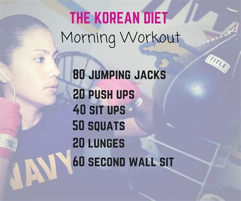 Kpop workout plan - All For Workout
