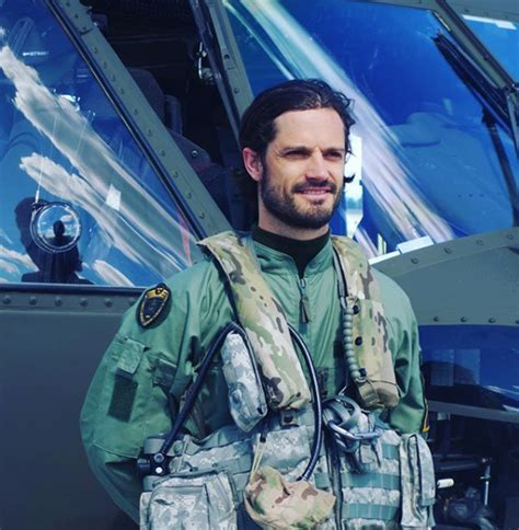 Meet the dashing Prince Carl Philip of Sweden who has a