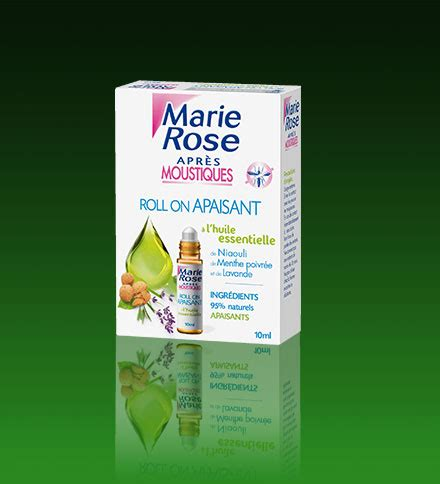 Marie Rose l'expert antiparasitaire - Roll-on apaisant aux