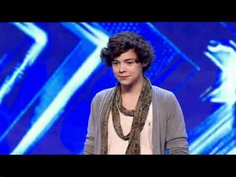 X Factor 2010 Auditions - Harry Styles