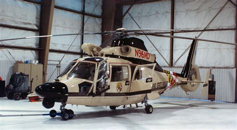 Maryland State Police Helicopter - N96MD | Aerospatiale