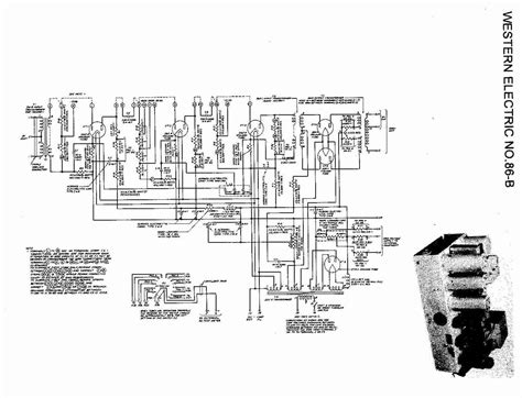 Schematic - Western Electric 86-B Tube Amplifier @ AmpsLab