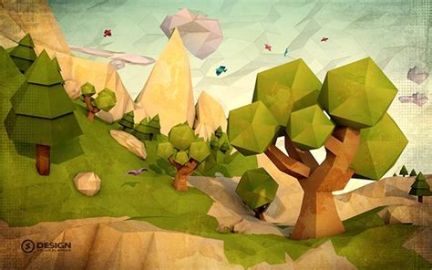 Low Poly | Low poly art, Low poly, Illustration